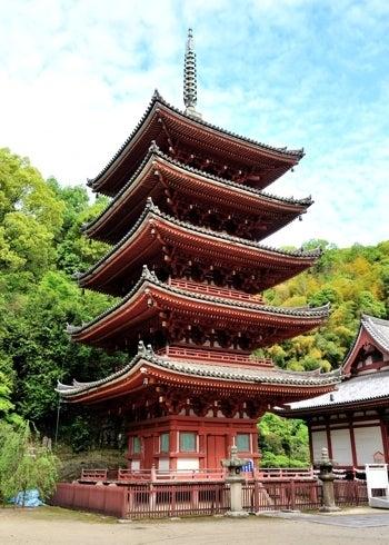$史跡へ行こう!ブログ-明王院五重塔02