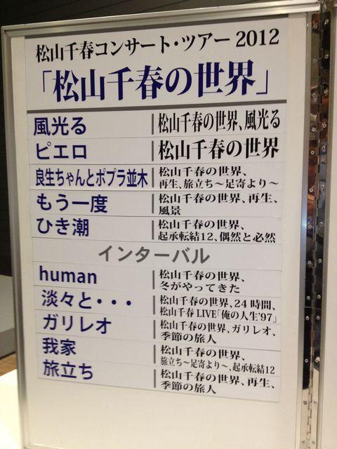 松山千春コンサート@東京国際フォーラム