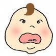 赤ちゃんを虫歯のミュ…