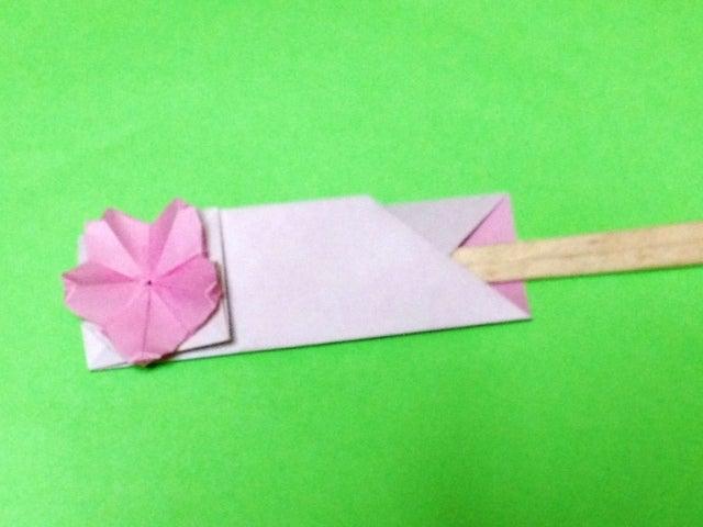すべての折り紙 箸入れ 折り紙 : さくらの箸袋 折り紙で箸袋 ...