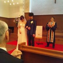 久しぶりの結婚式