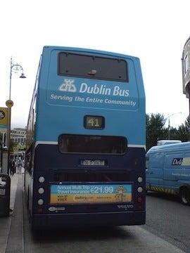 ダブリンバス1