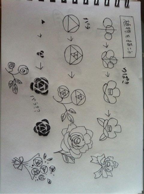 ボールペンイラスト 植物 ... : 絵日記 ノート : すべての講義