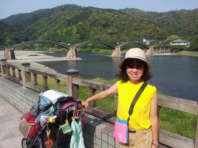 歩き人ふみの徒歩世界旅行 日本・台湾編-錦帯橋