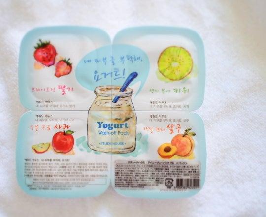 韓国コスメ ヨーグルトパック