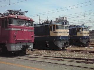 ぽけあに鉄道宣伝部日誌(仮)-EF80-36,EF60-510,EF65-535