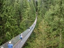 $Road to SAROMAN BLUE-キャピラノ吊橋