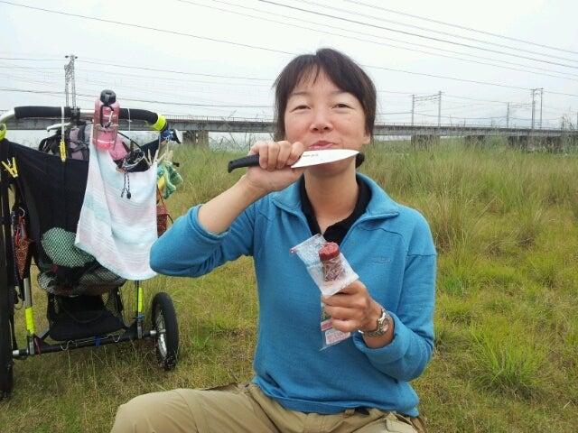 歩き人ふみの徒歩世界旅行 日本・台湾編-サラミを食う