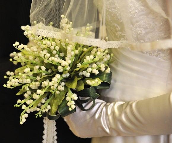花嫁のブーケ-スズランのブーケ