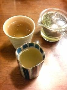 樹こりマスターのブログ-森家の新茶