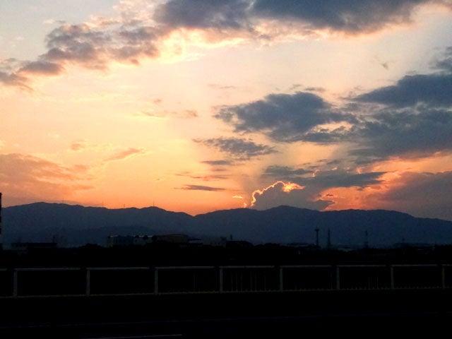 Umebro-sunset