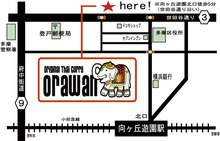$登戸・向ヶ丘遊園 オリジナルタイカレー 『オラワン』