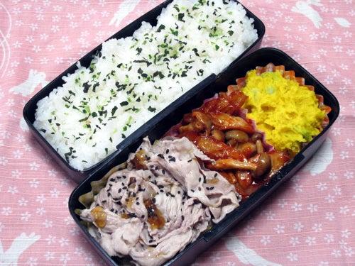 韓国料理研究家・ほんだともみのコリアンワールド-ちくわとしめじのコチュジャンソテー
