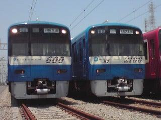 ぽけあに鉄道宣伝部日誌(仮)-kq606F&2157F KQ Blue Sky Train