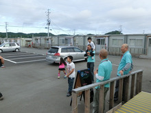 浄土宗災害復興福島事務所のブログ-20120606高久第1⑥