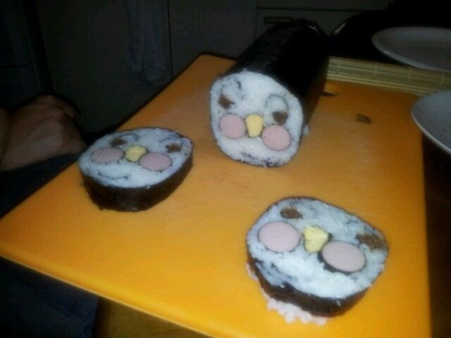 歩き人ふみの徒歩世界旅行 日本・台湾編-アンパンマン巻き寿司