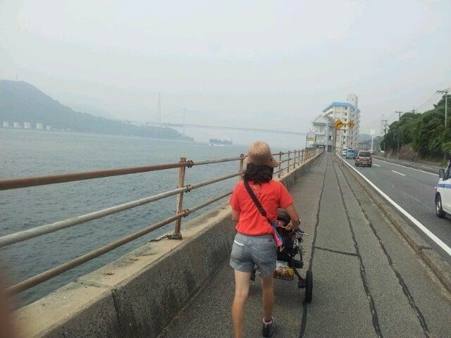 歩き人ふみの徒歩世界旅行 日本・台湾編-関門海峡