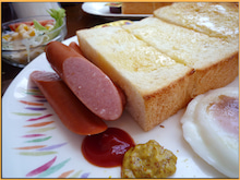 Kirin's Cafe  Style  /  カフェ・雑貨・グルメ & 街歩き-COLORADO 幕張 トースト