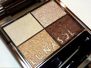 $キレイニッキ。-LUNASOL Summer Eyes2012 EX01 Glowing Beige Brown