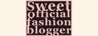 sweet blogger
