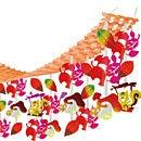 ハンガー森のブランコリス【店舗装飾品・インテリア(秋)・ハンガー・ガーランド・センター】
