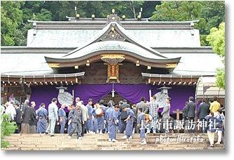 「魚の町 川船」長崎くんち2012-長崎市諏訪神社