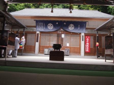 秋田犬カイの日常-神恵院1