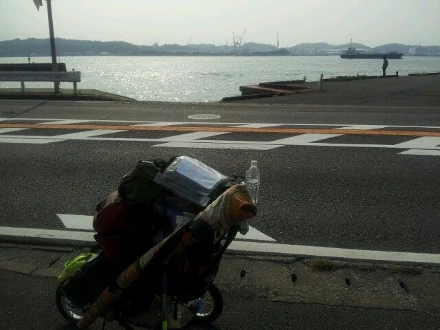 歩き人ふみの徒歩世界旅行 日本・台湾編-巌流島