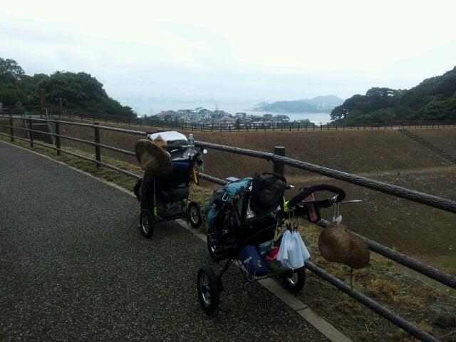 歩き人ふみの徒歩世界旅行 日本・台湾編-公園から