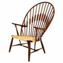 【送料込】北欧家具 ピーコック ラウンジチェア/Peacock Chair【フレーム:メープル】