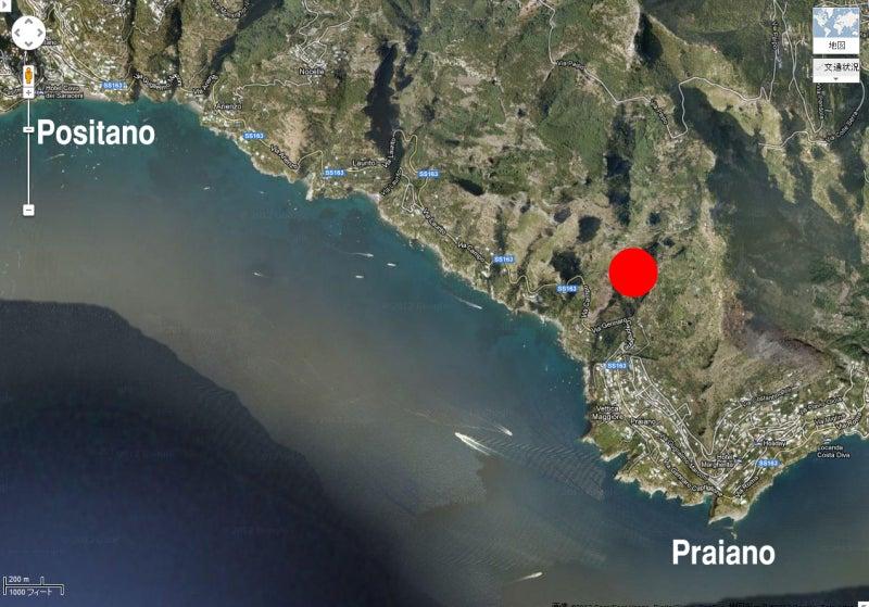 【彼女の恋した南イタリア】 - diario  イタリアリゾート最新情報    -プライアーノの修道院の場所 地図