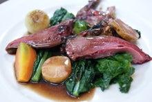 食べて飲んで観て読んだコト+レストラン・カザマ-小鳩のロースト
