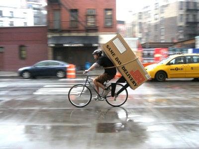 自転車で自転車を運ぶ?バッグ ...
