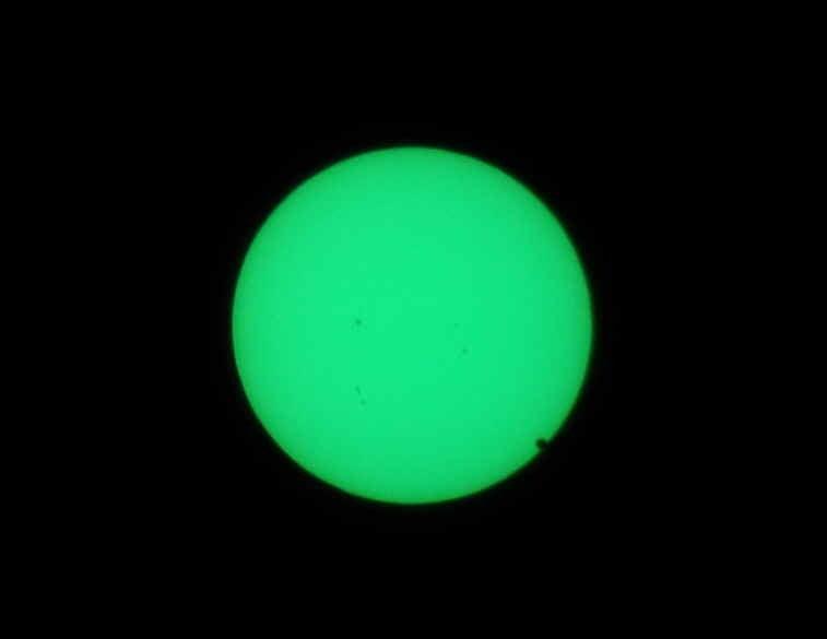 コステのブログ-金星通過