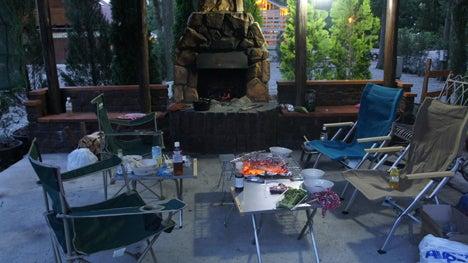 初めてのオートキャンプ!子供と一緒にキャンプに行こう!-C&C2012-6暖炉サイト-1
