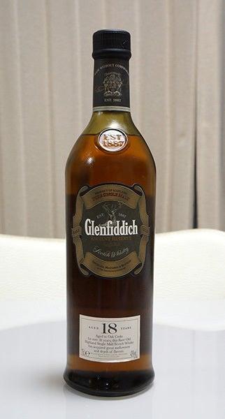 $cheltenhamのブログ-Glenfiddich 18年モノ