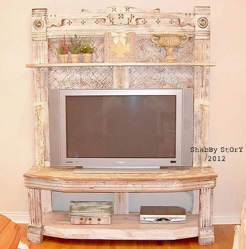 テレビをおしゃれに飾る海外のインテリア例