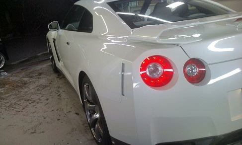 洗車と磨きとコーティングを追求してみよう!  洗車道具店の日記-GT-R