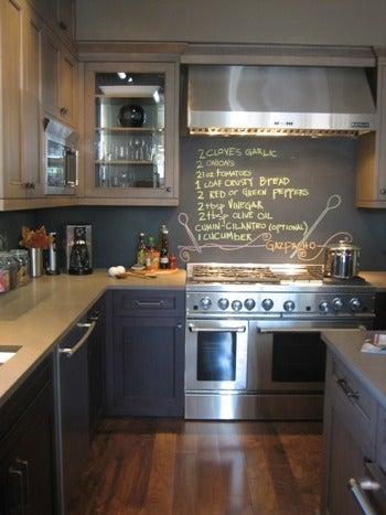 黒板ペンキで家具や壁をDIY