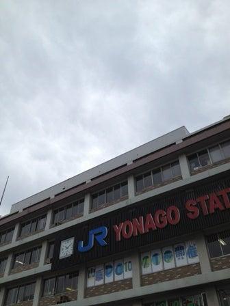 朝の米子駅