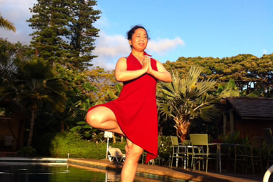 $ハワイ・マウイ島でヨガと癒し(全米ヨガアライアンス認定校)