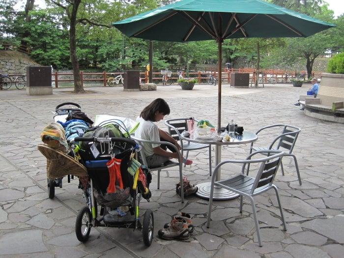 $歩き人ふみの徒歩世界旅行 日本・台湾編-昼食