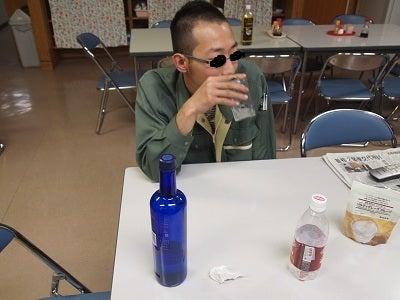 上松技術専門校 木工ブログ2012-研ぎ師は夜な夜な酒をあおる