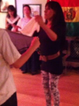 ボリビアダンスのレッスン