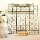 PRIMITIVE CALENDAR(プリミティブ・カレンダー)木製ウッドカレンダー