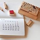 カレンダー スタンプセット