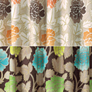 【イージーオーダードレープカーテン】【DESIGNERS GUILD(デザイナーズギルド)】 サラファン【川島織物セルコン】