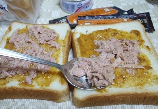 仁丹の食養生カレーでカレートースト(2)