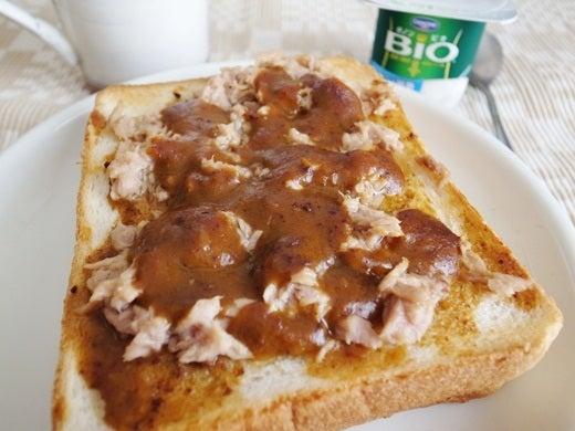 仁丹の食養生カレーでカレートースト(3)