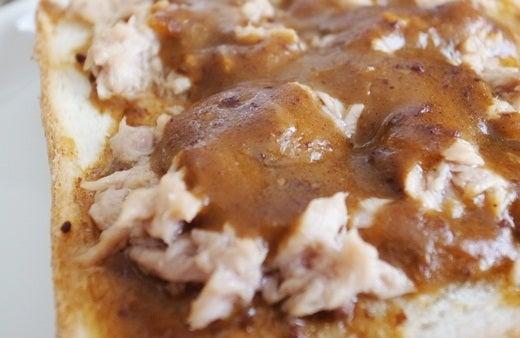 仁丹の食養生カレーでカレートースト(4)
